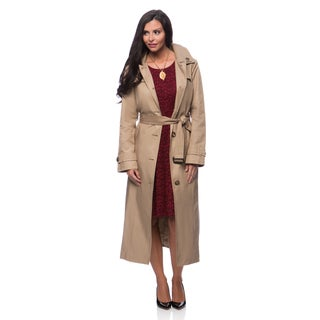 London Fog Missy Long Rain Coat