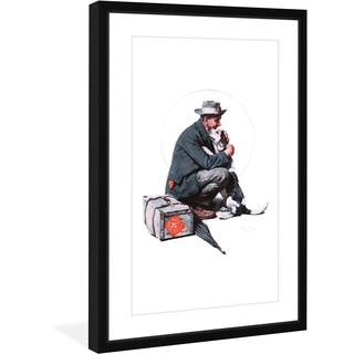 Norman Rockwell 'Pals' Marmont Hill Framed Art Print
