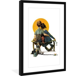 Norman Rockwell 'Sunset' Marmont Hill Framed Art Print