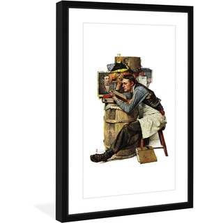 Norman Rockwell 'Law Student' Marmont Hill Framed Art Print