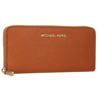 Michael Kors Jet Set Leather Continental Travel Wallet Luggage