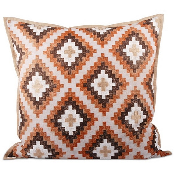 Southwestern Down Filled 20-inch Throw Pillow - Free Shipping Today - Overstock.com - 17474447