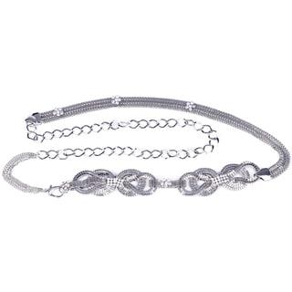 J. Furmani Double Bow Chain Belt