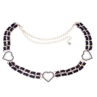 J. Furmani Hearts Chain Belt