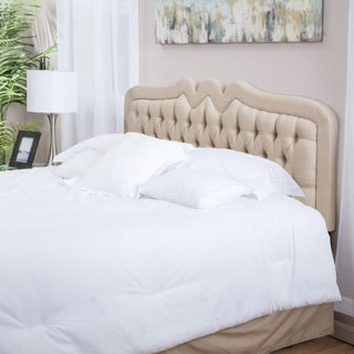 Christopher Knight Home Selby Adjustable Beige Fabric Headboard