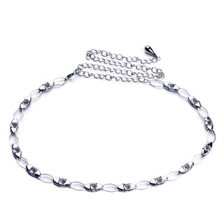 J. Furmani Glass Chain Link Belt