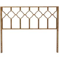 The Curated Nomad Alameda Honeycomb Deluxe Brushed Gold Headboard