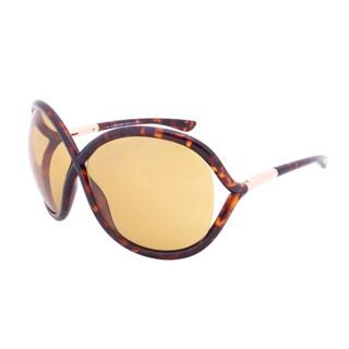 Tom Ford Francoise Sunglasses TF272 52J, Tortoise Shell Frame, Brown Lens