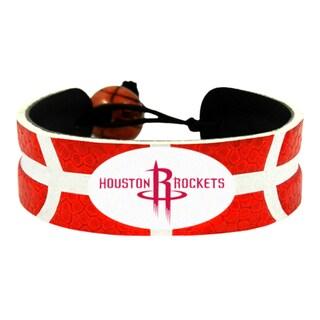 Houston Rockets Team Color NBA Basketball Bracelet