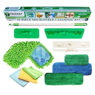 11-piece Microfiber Cleaning Kit