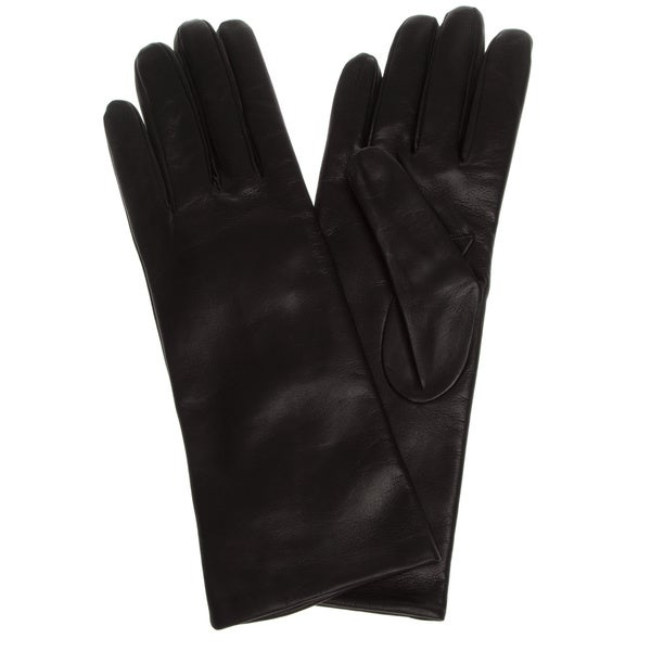 Portolano Women's 11-inch Cashmere Lined Leather Gloves
