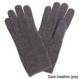 Portolano Women's Cashmere 10-inch Gloves