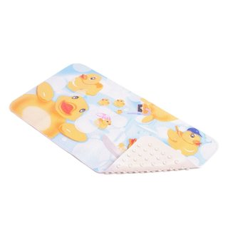 Con-Tact Brand Rubber Duckies Rubber Bath Mat, 30'' x 16'' (Pack of 4)