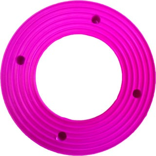 Plant Stand PlantJacks Bright's Collection Hot Pink Pottery Rings (Pack of 4)
