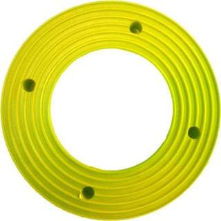 Plant Stand PlantJacks Bright's Collection Citrus Yellow Pottery Rings (Pack of 4)