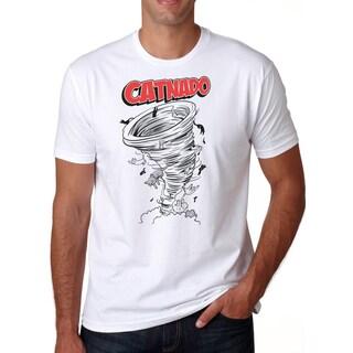Mens Catnado Funny Cat Tornado T-Shirt