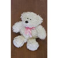 Pam Grace Creations Nubby White Bear