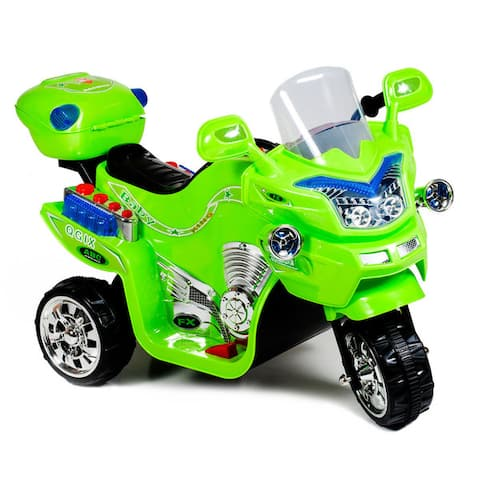 Ride on Toy, 3 Wheel Motorcycle for Kids, Battery Powered Ride On Toy by Lil' Rider - Ride on Toys for Boys & Girls