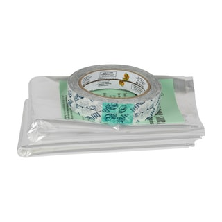 Shrink Film Wndw Kits 10pk Clr