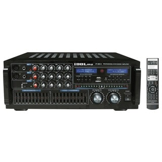 IDOLpro IP-388 II 1400-watt 10-band LED Equalizer and Professional Karaoke Console Mixing Amplifier