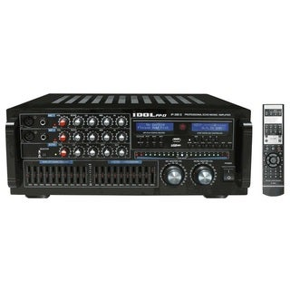 IDOLpro IP-388 II 1400-watt 10-band LED Equalizer and Professional Karaoke Console Mixing Amplifier