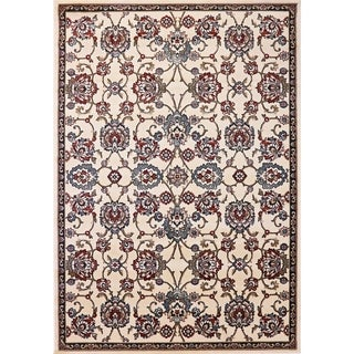 Cappella Traditional Medallion Ivory Area Rug (3'11 x 5'3)