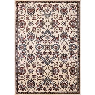 Cappella Traditional Medallion Ivory Area Rug (7'10 x 10'10)