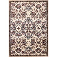 Cappella Traditional Medallion Ivory Area Rug (7'10 x 10'10) - 7'10 x 10'10