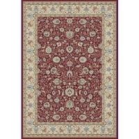 Cappella Traditional Floral Area Rug (9'2 x 12'10) - 9'2 x 12'10