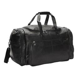 David King Leather Black Extra Large Promotional Duffel Bag