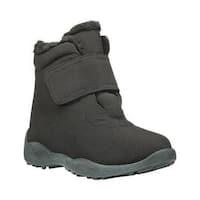 Women's Propet Madison Ankle Strap Boot Black Nylon