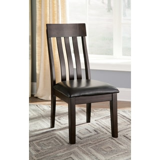 Signature Design By Ashley Haddigan Dark Brown Dining Chairs (Set of 2)