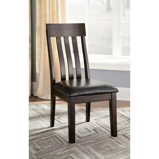 Ashley Furniture - Haddigan Dark Brown Dining Chairs (Set of 2)
