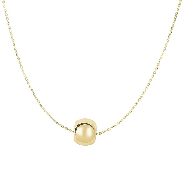 Shop 14k Yellow Gold 17 Inch Charm Necklace Free