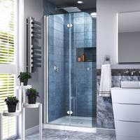 DreamLine Aqua Fold 33 1/2 in. W x 72 in. H Frameless Bi-Fold Shower Door