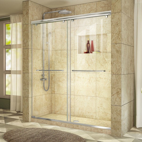 frameless in width hinged quot ultra dp door aqua shower brushed dreamline
