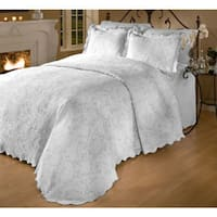 The Gray Barn Pitchfork 3-Piece Matelasse Bedspread Set