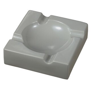 Visol Donovan Grey Ceramic Cigar Ashtray For Patio Use