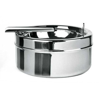 Visol Dash Polished Chrome Metal Cigar Ashtray