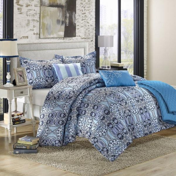 Chic Home Phoenix Luxury Reversible 6-piece Comforter Set