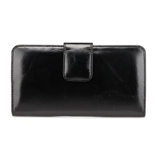 Vicenzo Leather Women's Envy Distressed Leather Wallet
