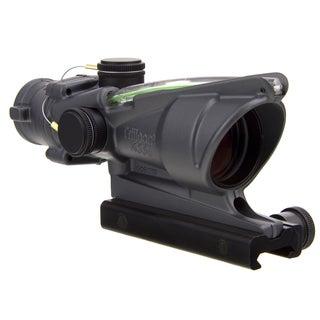 Trijicon ACOG 4x32 Dual Illuminated Green Crosshair with Flattop Mount Cerakote Sniper Gray