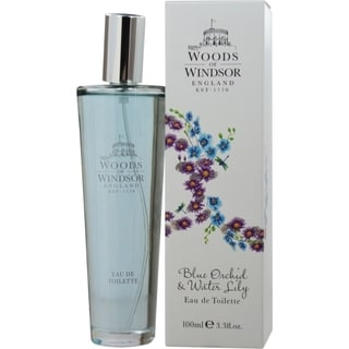 Woods Of Windsor Blue Orchid & Water Lily Women's 3.4-ounce Eau de Toilette Spray