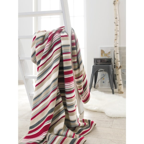 IBENA Messina Stripes Galore Oversized throw