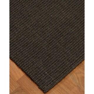 Hand-crafted Legacy Sisal Black Rug (5'x8')