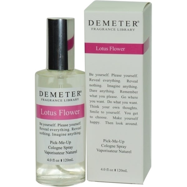 Shop Demeter Womens 4 Ounce Lotus Flower Cologne Spray Free
