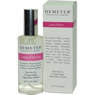 Demeter Women's 4-ounce Lotus Flower Cologne Spray