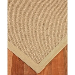 Hand-crafted Temperley Sisal Beige Rug (6'x9') with Bonus Rug Pad