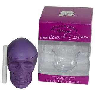 Ed Hardy Skulls & Roses Women's 3.4-ounce Eau de Parfum Spray (Chalkboard Edition)