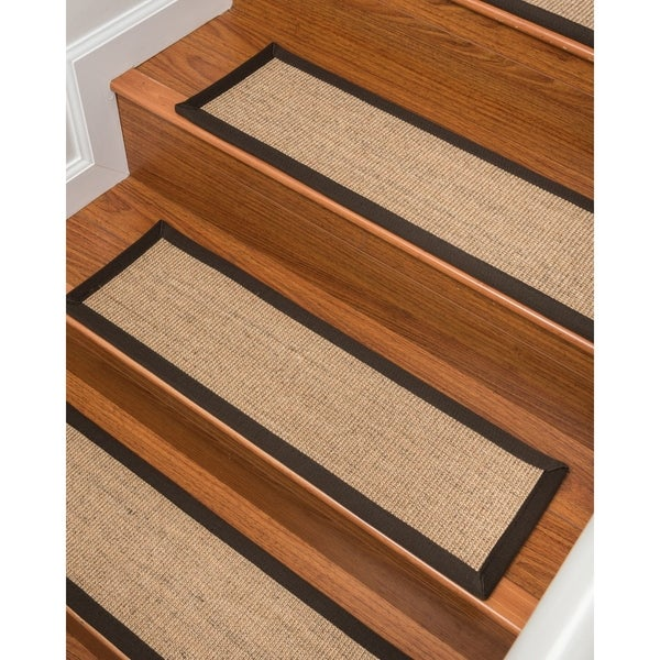 Natural Area Rugs Montreal Sisal Carpet Stair Treads Set Of 13 9